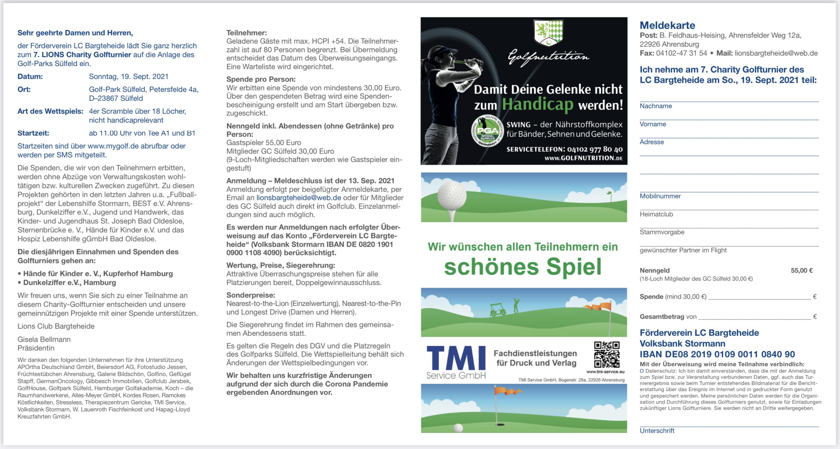 Golfturnier 2021 Seite 2